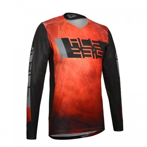 Μπλούζα Acerbis MX LTD Outrun 24238.349 κόκκινο/μαύρο