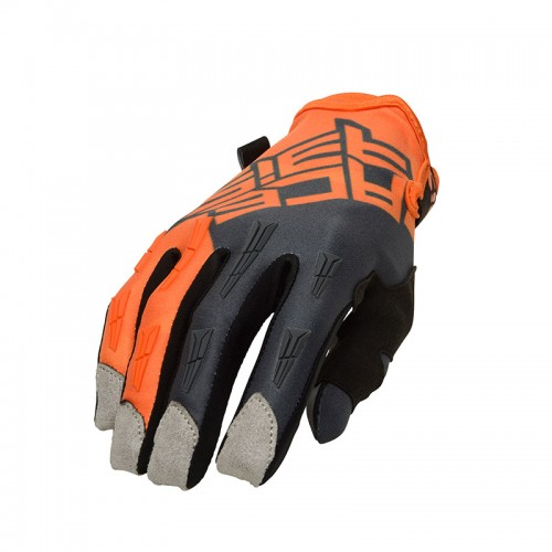 Γάντια Acerbis X-H 23409.207 πορτοκαλί/γκρι