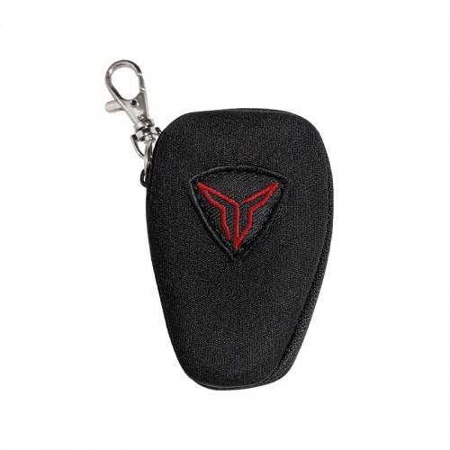 Θήκη μπρελόκ Nordcode Key bag logo κόκκινο