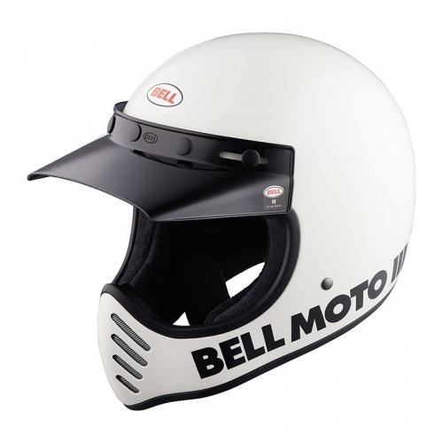Bell Moto 3 Classic gloss white