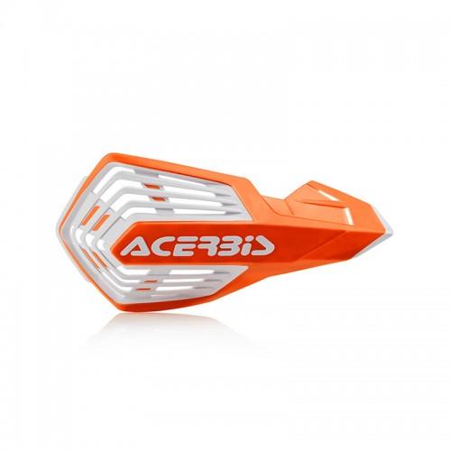 Acerbis Handguards 24296.203 X-Future orange/white