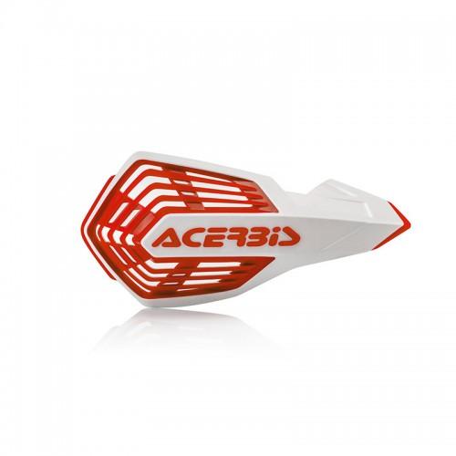 Acerbis Handguards 24296.239 X-Future white/red