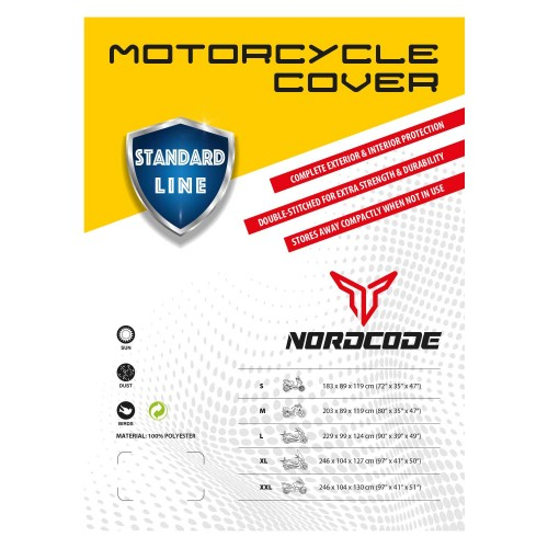 Kάλυμμα μοτό Nordcode Standard Line XL 246*104*130