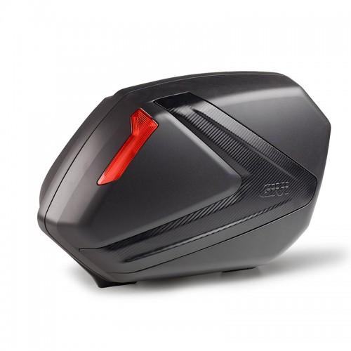 Givi Side Cases (pair) V37NN black/red 37lt.
