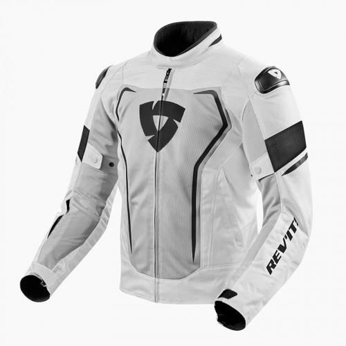 Rev'It Μπουφάν Vertex Air Ανδρικό Καλοκαιρινό Light Grey/Black