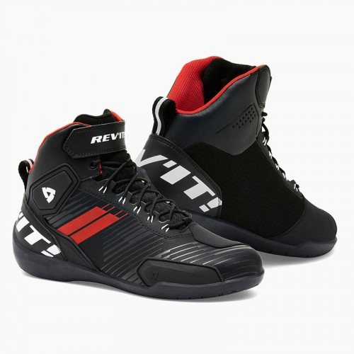 Rev'It G-Force Sport Riding Shoes black/neon red