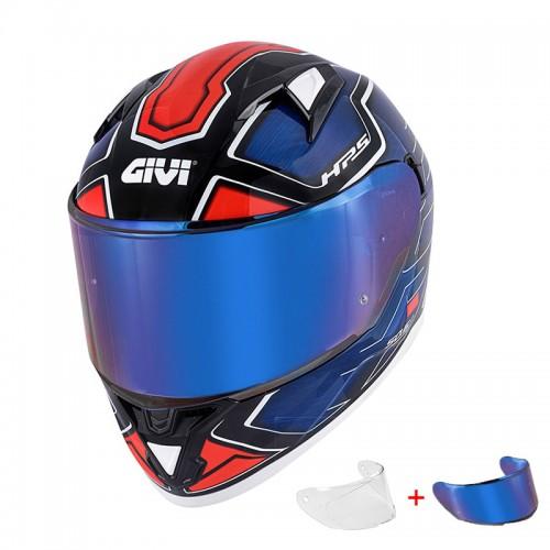 Givi H50.6 Sport Deep Blue/Red