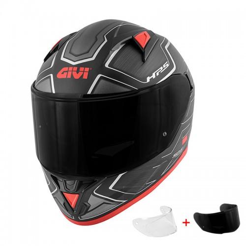 Givi H50.6 Sport Deep Matt Black/Red