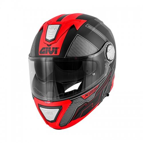 Κράνος Givi HX23 Syndey Protect new Matt black/titanium/red