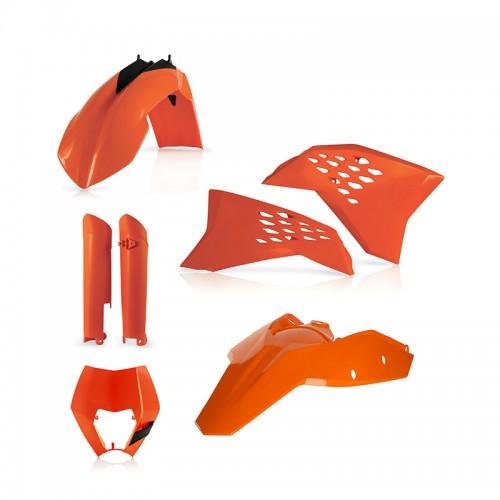 Full κιτ πλαστικά Acerbis 14219.010 KTM EXC '08-11 πορτοκαλί