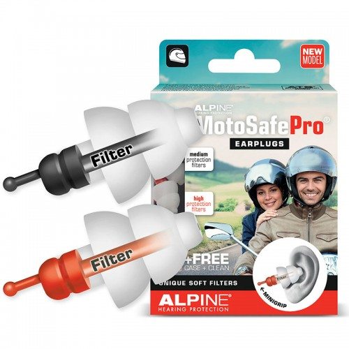 Ωτοασπίδες Alpine Motosafe Pro