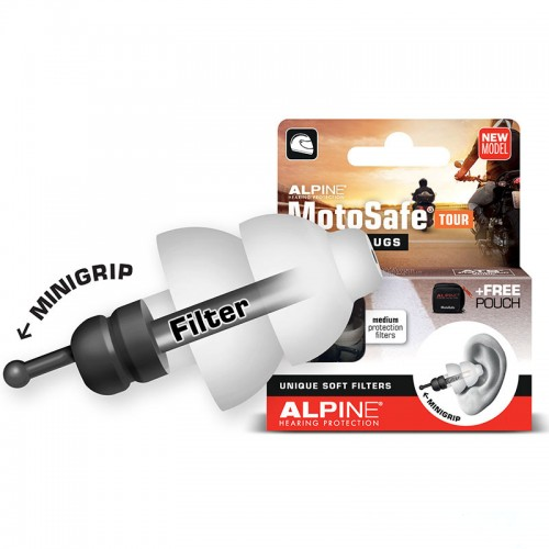 Alpine Motosafe Earplugs Tour