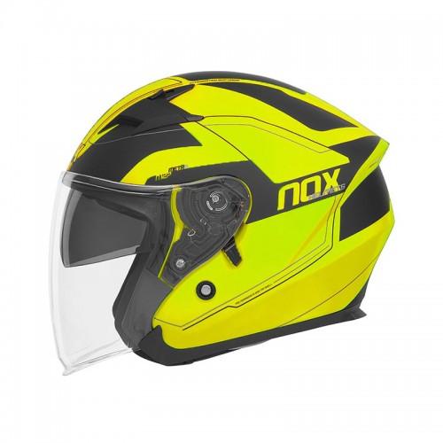 Κράνος Nox N127 Metro Neon κίτρινο