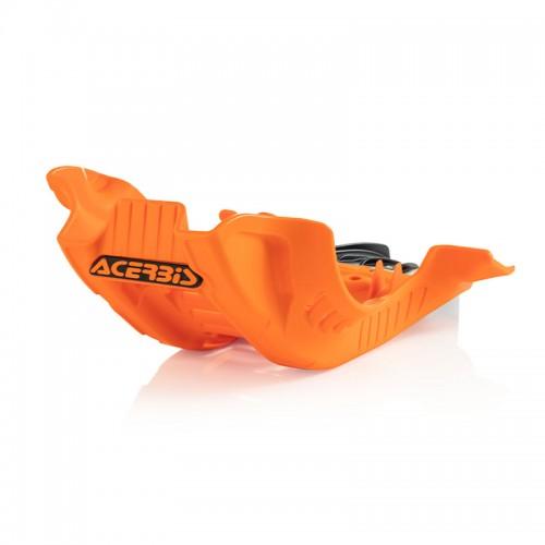 Acerbis Skid Plate 24255.209 KTM SFX 250/350 '20 orange/black