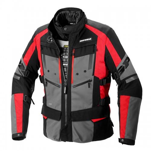 Spidi 4 Season Evo Jacket black/gray/red 014