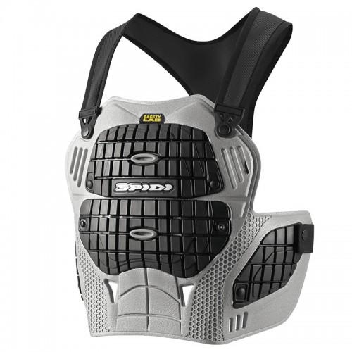 Προστασία θώρακα Spidi Thorax Warrior μαύρο/γκρι 016