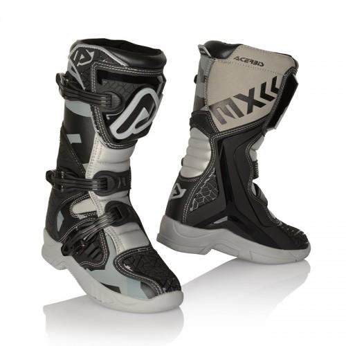 Μπότες Acerbis 24249.319 X-TEAM KID μαύρο-γκρι