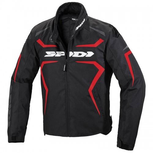 Spidi Μπουφάν Μηχανής Sportmaster H2OUT Ανδρικό μαύρο/κόκκινο 021