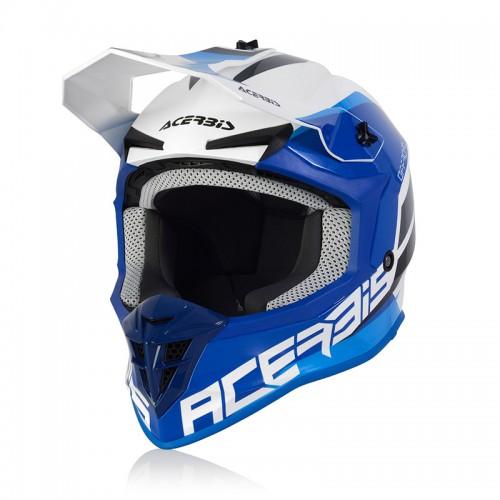 Κράνος Acerbis Linear 24473.232 άσπρο/μπλε