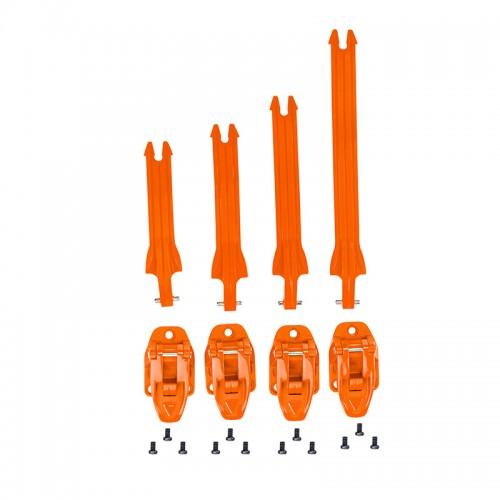 Σέτ ιμάντες Acerbis X-Team 23289.010 πορτοκαλί