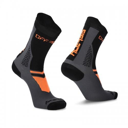 Κάλτσες Acerbis MTB Track 24548.313 μαύρο/πορτοκαλί