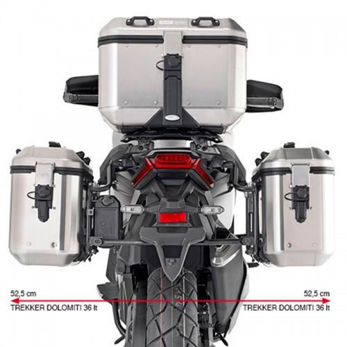 Βάσεις πλαϊνών βαλιτσών PLO1188MK_X-ADV 750 (2021)  Honda Givi