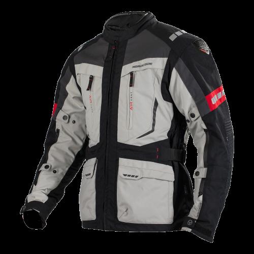 4SEASON Jacket Nordcode Dakar Evo Black/Light Grey