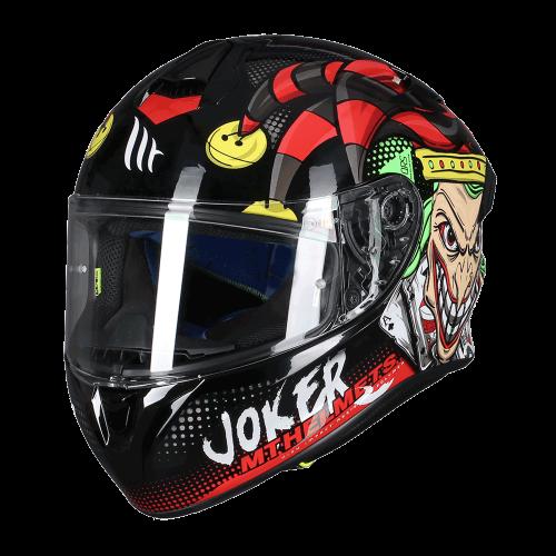 Κράνος MT Targo Pro Joker A1 μαύρο gloss