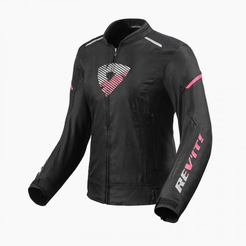 Rev'It Μπουφάν Μηχανής Sprint Lady H2O Γυναικείο  Χειμερινό μαύρο/ροζ