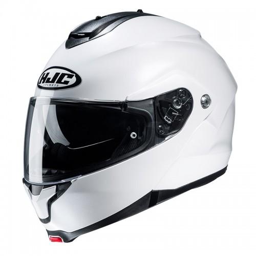 HJC C91 white pearl gloss