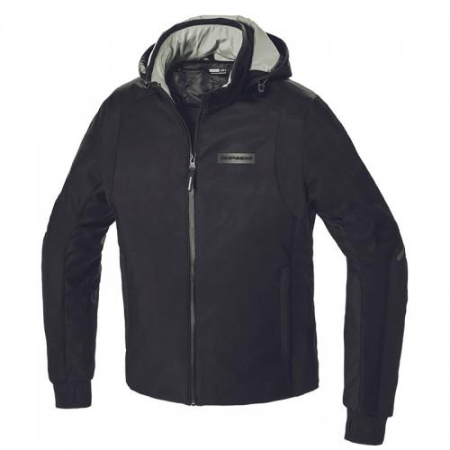 Spidi Μπουφάν Μηχανής Hoodie Armor H2OUT Ανδρικό Χειμερινό μαύρο 026