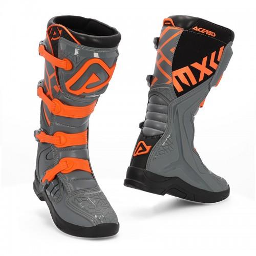 Μπότες Acerbis 22999.799 X-TEAM γκρι-πορτοκαλί