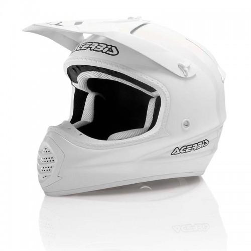 Helmet ACERBIS FIBER 035 15679 white