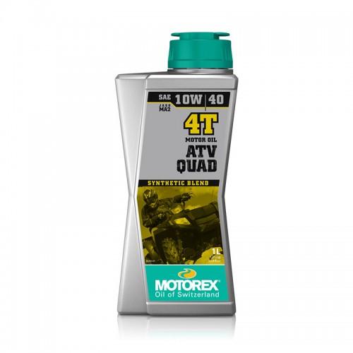 Λάδι 4T ATV QUAD 10W/40 ημισυνθετικό, 1 Lt Motorex