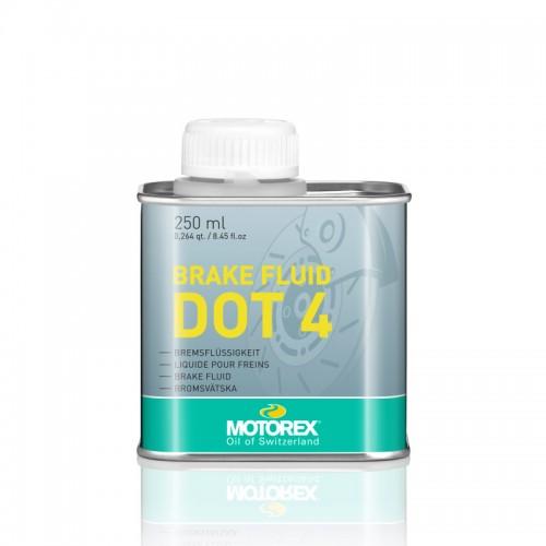 Υγρά φρένων DOT 4 Motorex 250ml