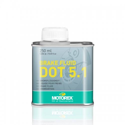 Υγρά φρένων DOT 5.1 Motorex 250ml