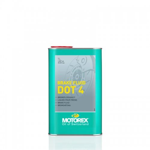 Υγρά φρένων DOT 4 Motorex 1Lt