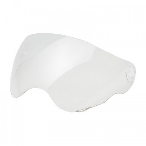 A6480 CLEAR ANTISCRATCH VISOR WITH PINS CABERG