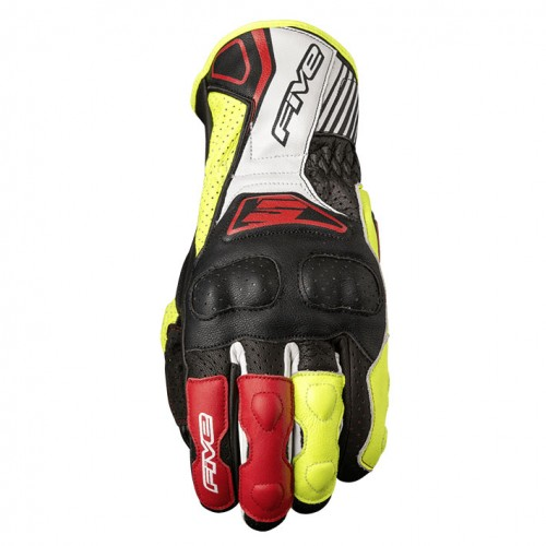 Five gloves - Rfx4 Replica Black/FluoYellow