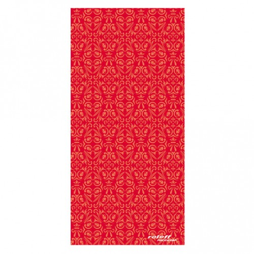 leff Ro 412 Tribal red scarf