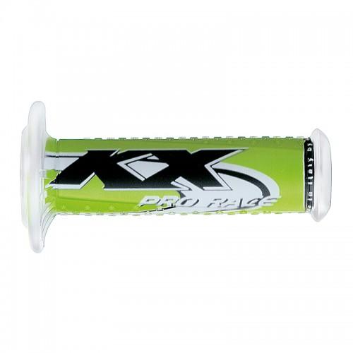 Ariete grips - Kawasaki KX logo 01689-KX