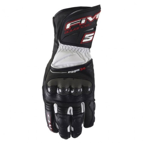 Five gloves - Rfx New black-white