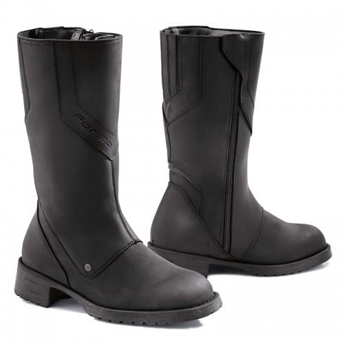 Μπότες Forma Harmony Lady δέρμα μαύρες