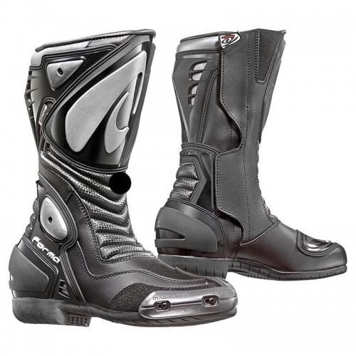Μπότες Forma Arrow Dry δέρμα αδιάβροχες μαύρες