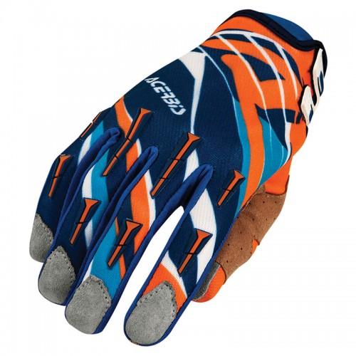 Γάντια Acerbis ΜΧ 2 _ 21631.204 μπλέ-πορτοκαλί