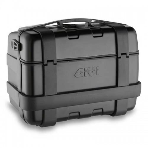 Βαλίτσα 46 λίτρα TRK46B μαύρη-αλουμινίου monokey GIVI