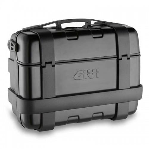 Βαλίτσα 33 λίτρα TRK33Β μαύρη-αλουμινίου  monokey GIVI