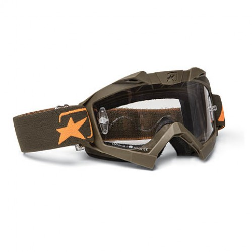 14001-SVO  MX GOGGLES ADRENALINE - SENIOR GREEN ORANGE ARIETE