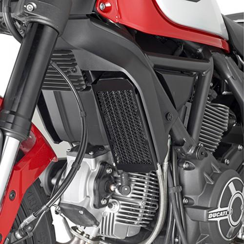 Προστασία ψυγείου PR7407_ αλουμινίου Scrabler 800'15 Ducati GIVI
