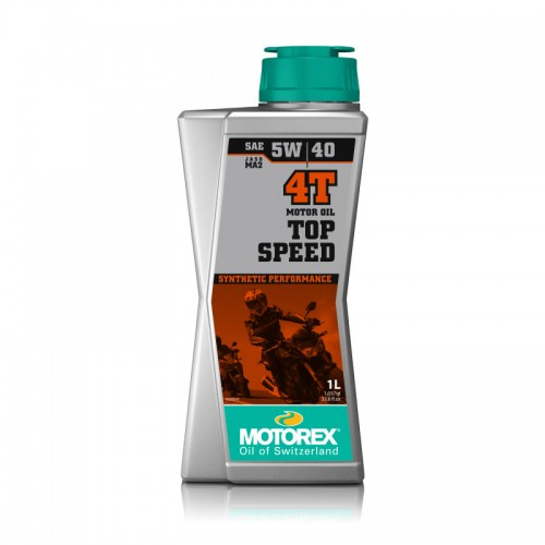 4T Top Speed 5W/40 100% synthetic, 1 Lt